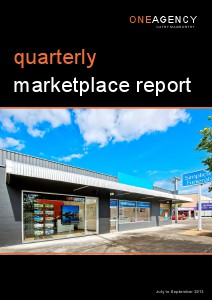 Quarterly Marketplace Report July to September 2013