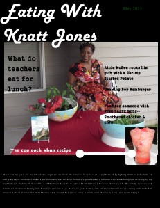 Eating With Knatt Jones May Issue