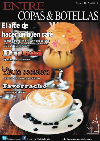 Entre Copas & Botellas Revista 01