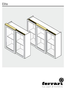 A. Ferrari SpA ENG Elite Sliding Door Fittings Instruction Manual