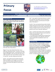 Spotlight on Primary Newsletter Maths Week and More!