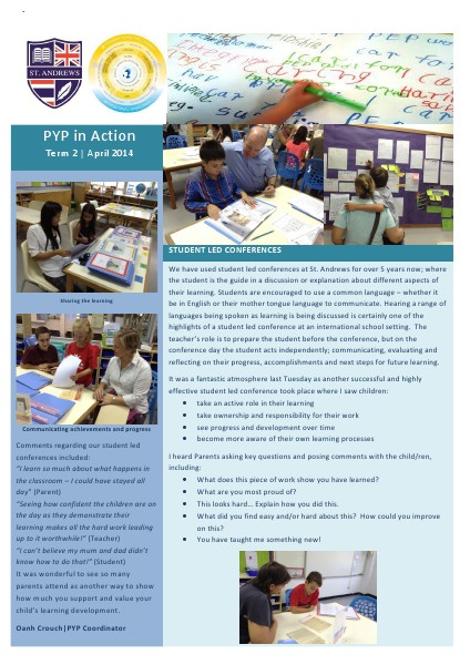 PYP in Action Newsletter Issue 8 [Eng]