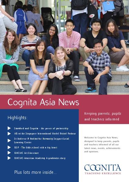 Cognita Newsletter June 2014