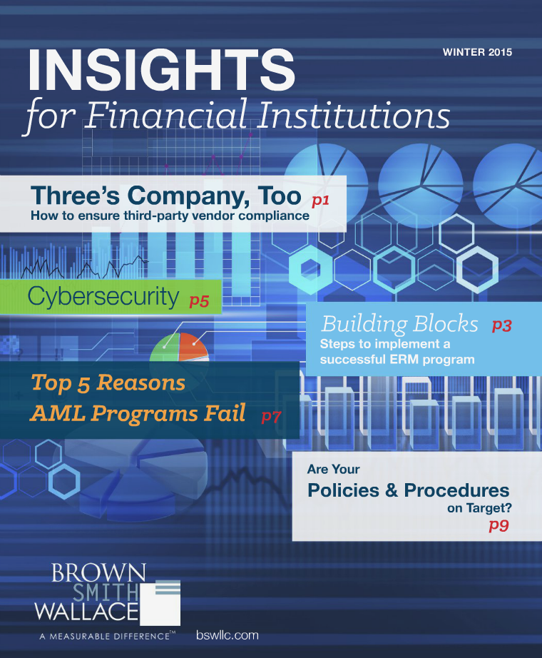 INSIGHTS for Financial Institutions Winter 2015