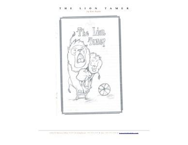 The Lion Tamer Volume 1
