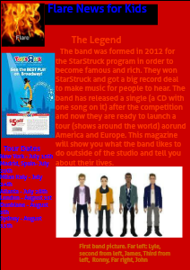 Flare News for Kids Apr. 2013