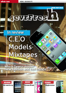 Forever Fresh Magazine volume 1 2013