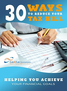 30 Ways To Reduce Your Tax Bill 2017