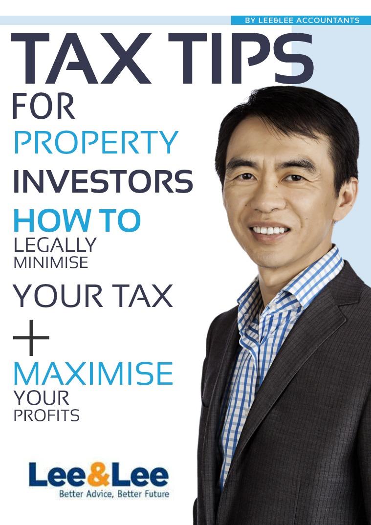 Lee&Lee Tax Tips Rental 2017 Volume1