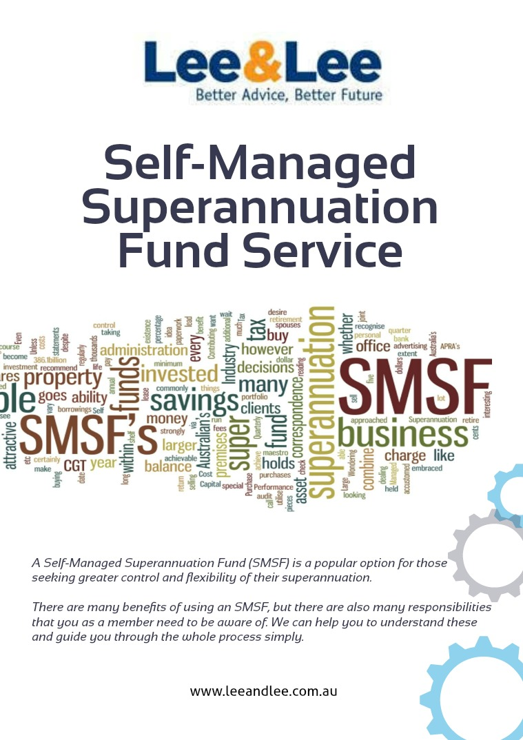 Self-Managed Superannuation Fund Service 1