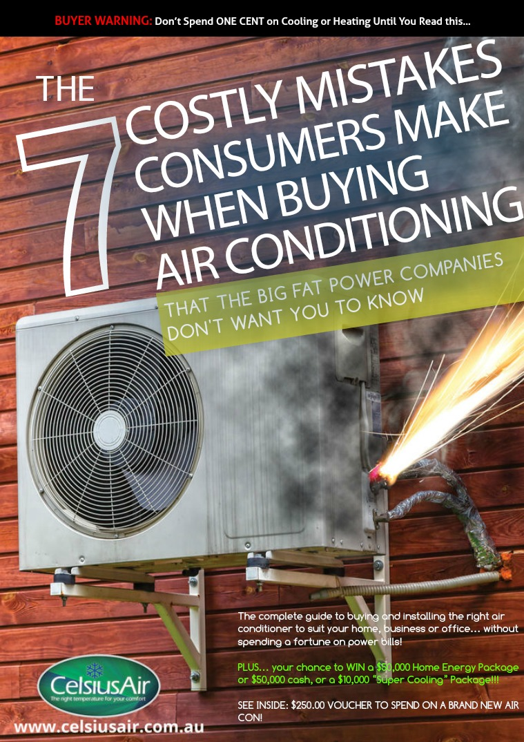 Celsius Air Conditioning The 7 Costly Mistakes Consumers Make...