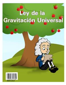Ley de la Gravitacion Universal May 2013