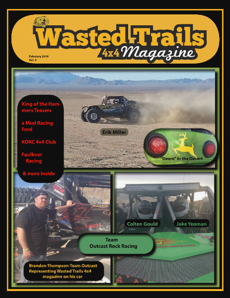 Wasted Trails 4x4 magazine February 2014 Vol 9