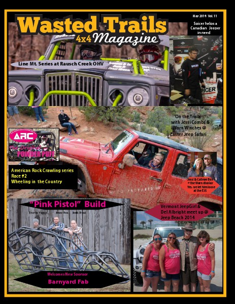 Wasted Trails 4x4 magazine vol 12 May 2014