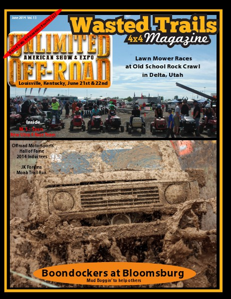 Wasted Trails 4x4 magazine June 2014 Vol 13