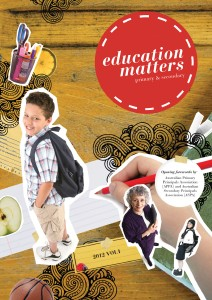 Education Matters Issue 1, 2012