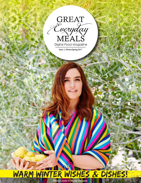 Great Everyday Meals Magazine | By Momma Cuisine Winter/Spring 2017