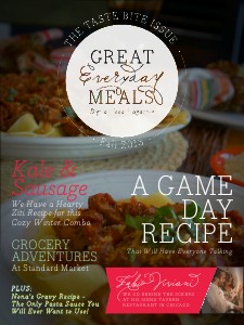 Great Everyday Meals Magazine | By Momma Cuisine Taste Bite Issue Sep 2013