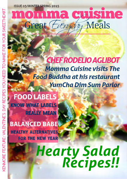 Great Everyday Meals Magazine | By Momma Cuisine Jan - March 2015
