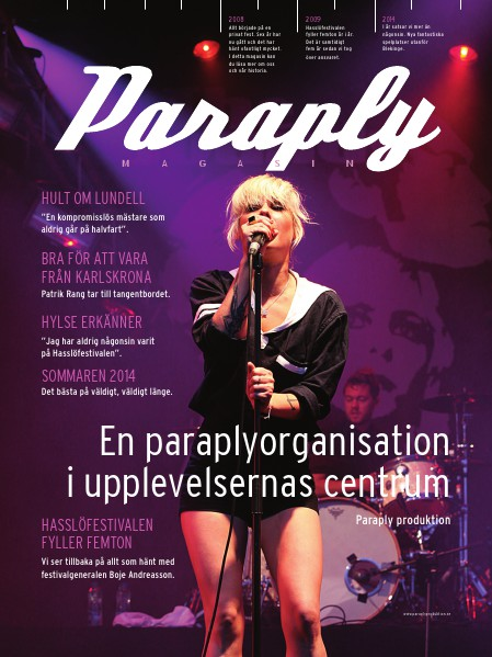 Paraply Magasin juni 2014