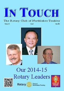 Rotary Club of Northlakes Toukley In Touch