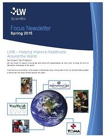 LW Scientific Focus Newsletter Spring 2015