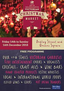 Wolverhampton Victorian Christmas Programme