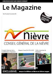 Le Magazine du Département de la Nièvre Avril 2013