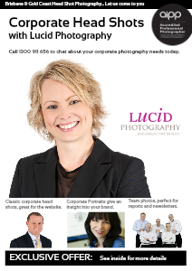 Professional Head Shot Photography with Lucid Photography May 2013
