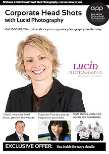 Professional Head Shot Photography with Lucid Photography