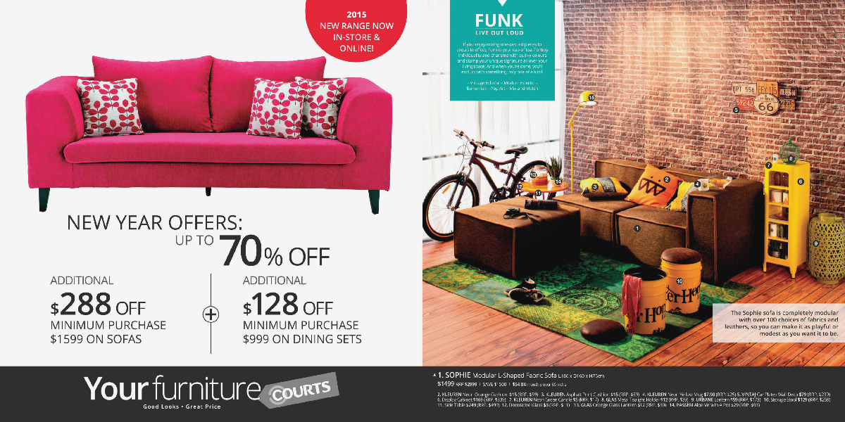 Courts Yourfurniture 2015