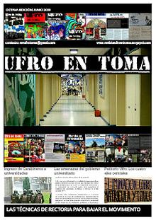 Ufro en toma mayo 2013