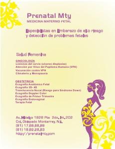 Prenatal Mty Mayo 2013