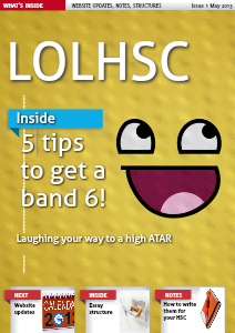 LOLHSC Volume 1 May. 2013