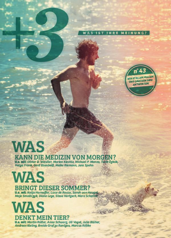 +3 Magazin Juni 2018