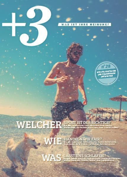 +3 Magazin August 2016