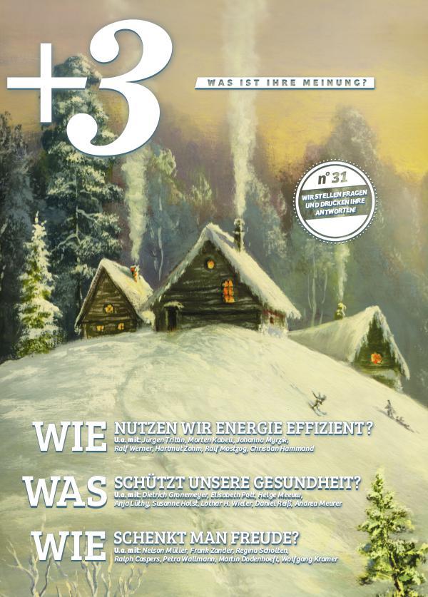 +3 Magazin Dezember 2016