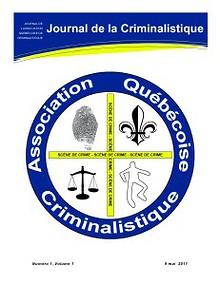 Journal de la Criminalistique, Vol 1, Num 1