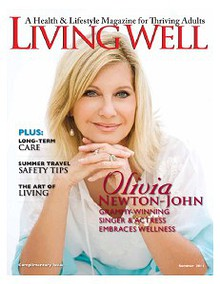 LIVING WELL Magazine summer cover story