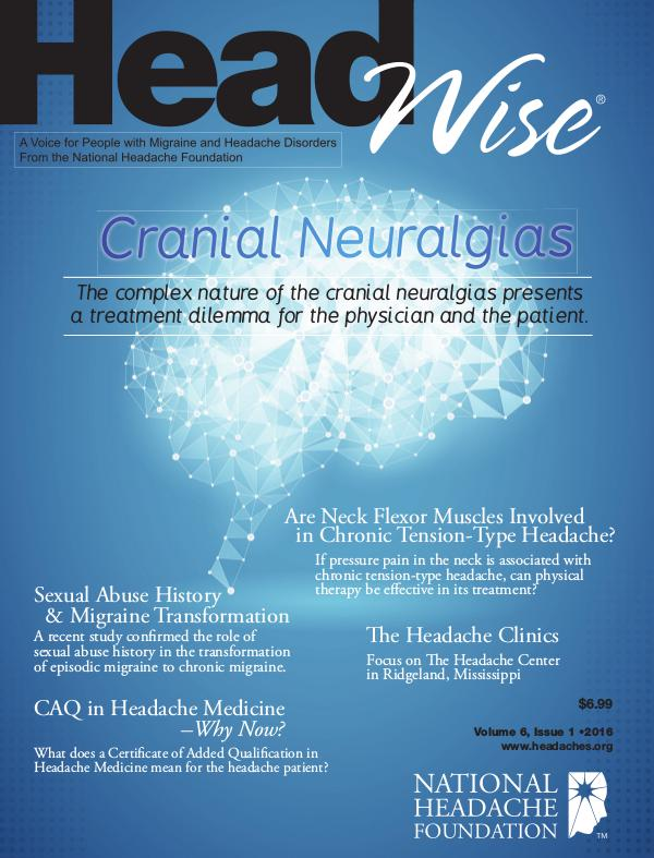 HeadWise: Volume 6, Issue