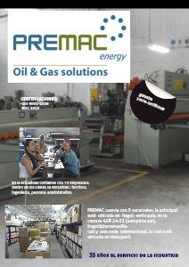 PREMAC ,05 2013