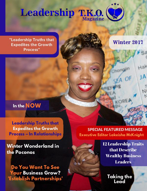 Leadership T.K.O.™ magazine Winter 2017
