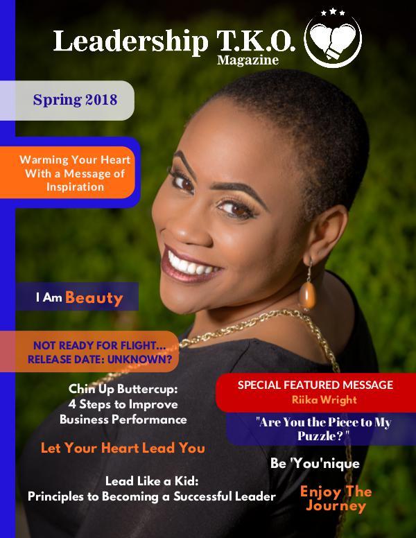 Leadership T.K.O.™ magazine Spring 2018