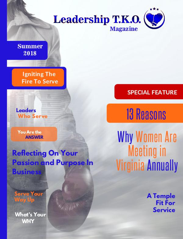 Leadership T.K.O.™ magazine Summer 2018