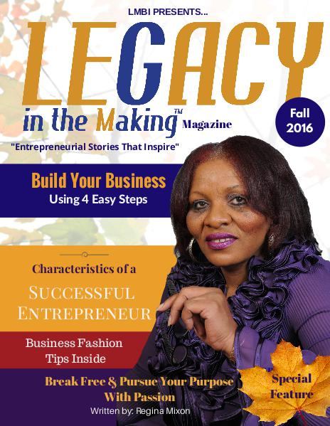 Leadership T.K.O.™ magazine Fall 2016