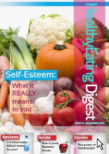 Healthy Eating Digest (November 2013)