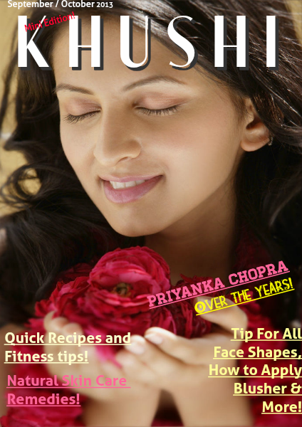 KHUSHI Magazine September / October 2013