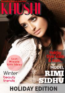 KHUSHI Magazine December 2013 / January 2014