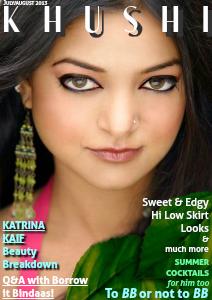 KHUSHI Magazine July / August 2013
