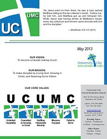 UCUMC Celebration Newsletter